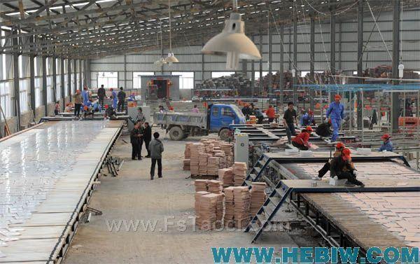 河南富得陶瓷一期生产线投产 开启鹤壁石林陶瓷园区新篇章