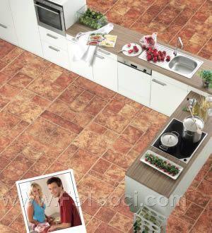 你瓷砖有仿木纹 我木地板也有仿瓷砖、仿金属地板