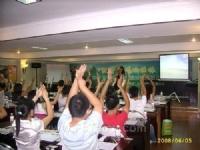 金朝阳陶瓷激情08唱响桂林广西经销商精英培训会